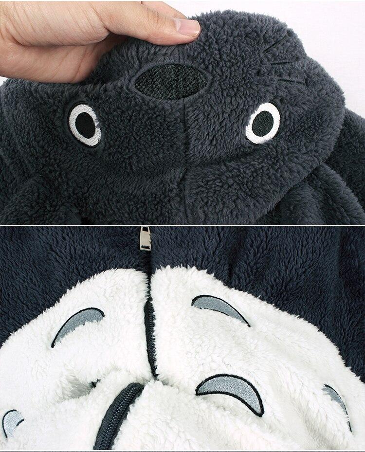 Anime Hoodie Disfraz Chaqueta Cosplay Felpa Vecino Mi Abrigo Sudaderas Mujeres Hombres Totoro 1q4pXZ