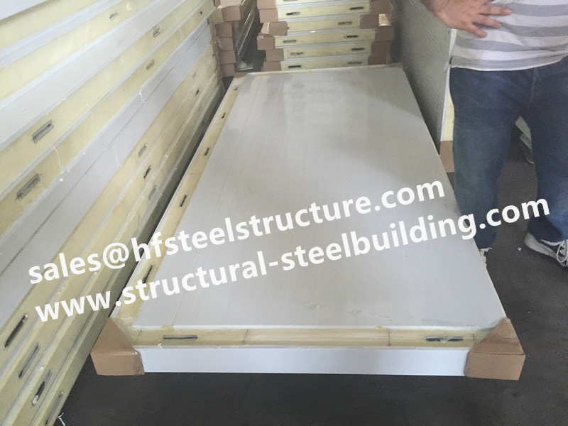 Good Insulated Panel With Fire Resistant Sandwich Panel,polyurethane Sandwich Panel For Cold Room And Walk In Cold Storage