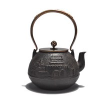 1.2L New South Japan Cast Iron Tea Pot Japanese Kung Fu Teapot Without Coating Kettle
