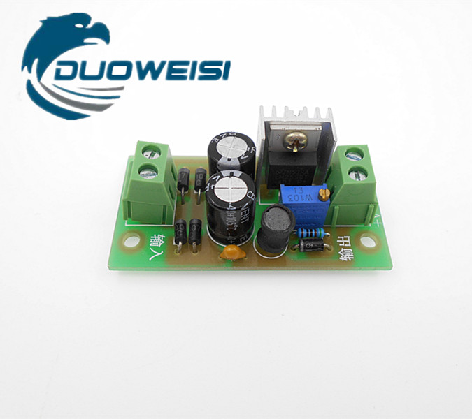 AC-DC / DC-DC step-down power supply module adjustable step-down module LM2596 regulator PLC control board liquid crystal displays dc dc step down power supply adjustable push button module with lcd display