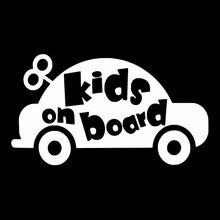 Vinyl Sticker Decals On-Board Car-Styling-Decoration KIDS Door-Body-Window BABY