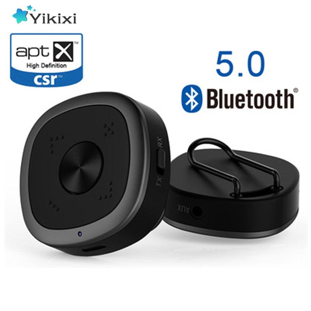 APTX HD Bluetooth 5.0 Émetteur Récepteur CSR8675 Sans Fil Audio Adaptateur 3.5mm Sans Perte faible retard Pour PC TV Casque casque