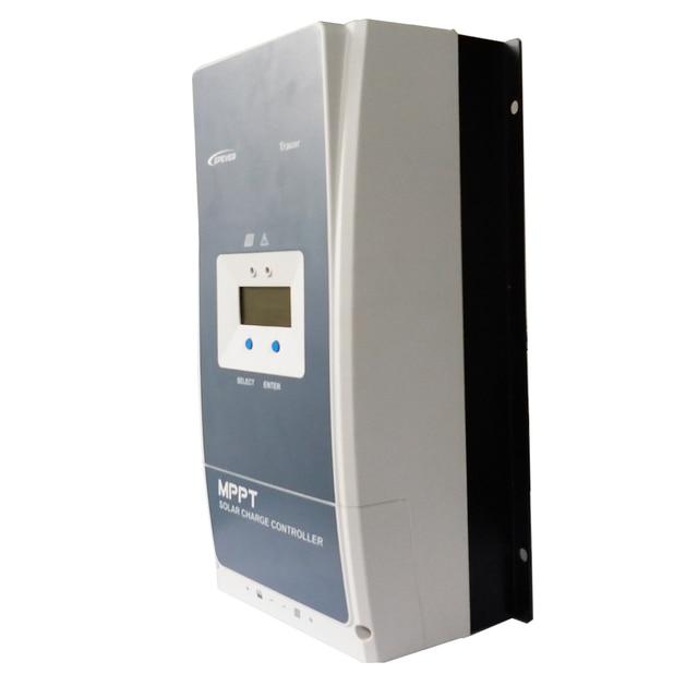 EPever MPPT 100A Solar Charge Controller 12V 24V 36V 48V Backlight LCD for Max 200V PV Input Real time Recording 10415AN 10420AN 4