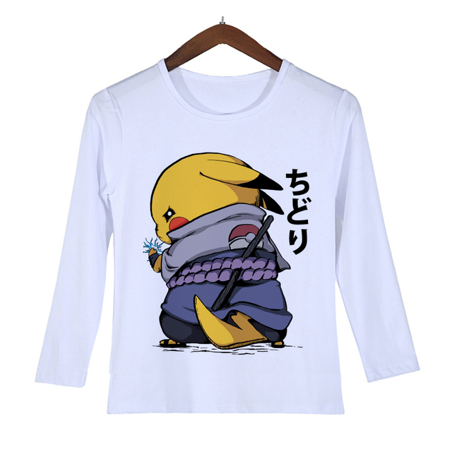 22c59d9b1 Pikachu t shirt women Lovely Pokemon T Shirt Anime Pika Men T-Shirt Pikachu  Girl T Shirt Cartoon Clothes Costume Drop Ship O-101
