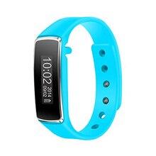 YCYS-V5 Bluetooth Reloj Inteligente Podómetro Paso corta Distancia Calorie Counter Perseguidor Del Deporte (Azul)