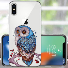 Soft TPU For Apple iPhone X Case For iphone XR XS MAX Case Silicon Back