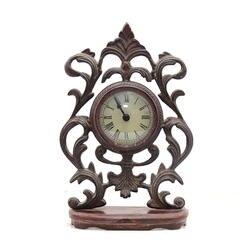 Старинные Бронзовые Часы Статуя для украшения дома