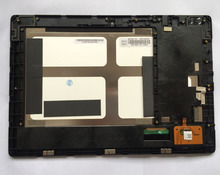 high quality LCD display + touch screen Digitizer Replacement  panel for Lenovo S6000 free shipping