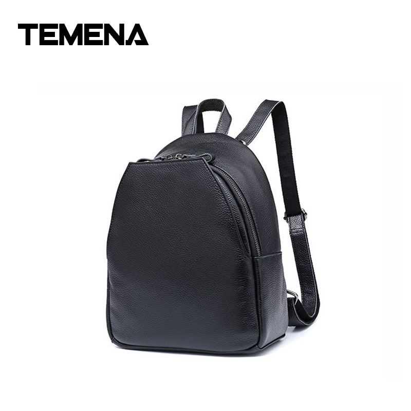 Temena Genuine Leather Men Backpack Large Capacity Man Travel Bags High Quality Unisex Trendy Business Bag For Man LeisureABP396 100% genuine leather men backpack large capacity man travel bags high quality male business bag for man computer laptop bag