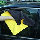 Urijk 1PC 3sizes Microfiber Towel for Car Cleaning House Washable Quick Dry Cloth Super Absorbent Car Washing Towels Hand Tops