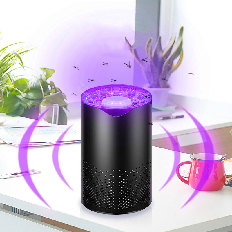 Liginwaat Usb Mosquito Killer Lamp Trap Led Electric Trap Lamp Living Room Uv Light Killing Lamp Mosquito Killer Insect