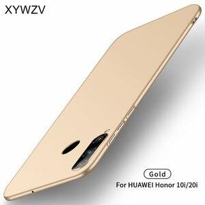 Image 3 - Huawei Honor 10i Ốp Lưng Silm Sang Trọng Cực Mịn Màng Cứng PC Ốp Lưng Điện thoại Huawei Honor 10i Lưng huawei Honor 10i Fundas