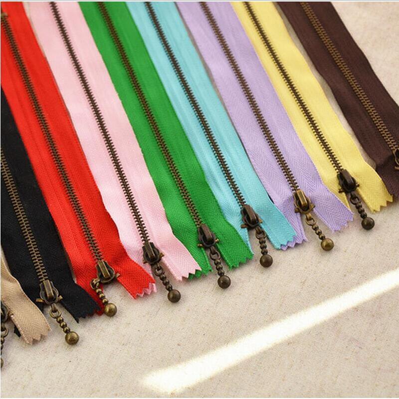 100pcs 3 40CM 30CM 20CM 15CM 12CM Metal Nylon Coil Zippers DIYTailor Sewing Tools Garment Accessories