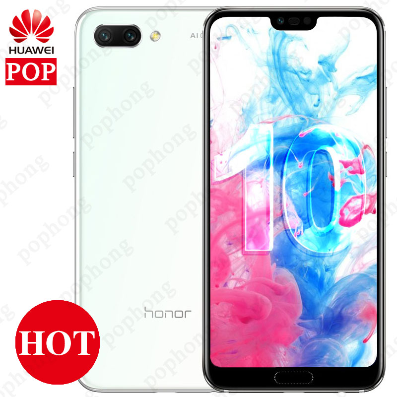 Huawei Honor 10 AI 24 0MP Cell Phone Android 8 1 NFC Kirin 970 Octa Core