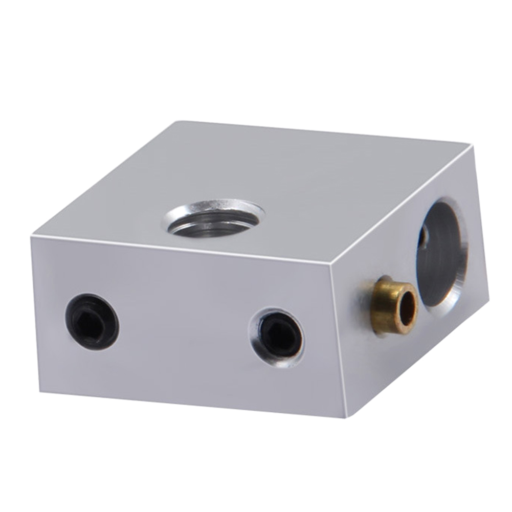 Extruder Accessories 3D Printer Heater Block Heating Mini MK7 MK8 Professional Hole Durable Practica