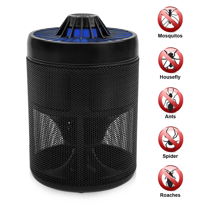 Mosquito Trap Electronic Mosquito Killer Eco-friendly Mosquito Insect Inhaler Lamp Pest Control for Indoor Outdoor Use ...