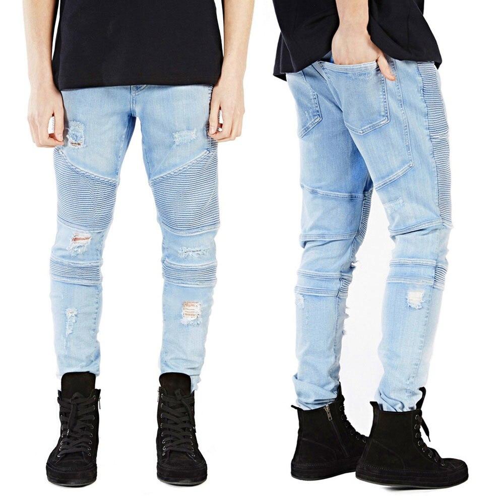 Gordon NWT Men/'s Faded Destroyed Skinny Light Black Jeans $21.99 Free Ship M