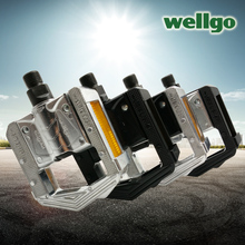 Wellgo F265 Folding Bicycle Pedals MTB Mountain Bike Padel Aluminum Folded Pedal Bicycle Parts