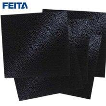 FEITA de 10 PCS A1001 Filtro Set Spec Carbono Ativado Filtro de Esponja 13x13x1 cm para 491 493 FR-400 ABSORVEDOR de FUMAÇA