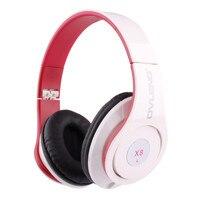Desxz X8 3.5 MM Przewodowe Słuchawki Super Bass HIFI Słuchawki Na Ucho Słuchawki Stereo Z Mikrofonem Do Komputera iPhone xiaomi