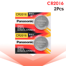 PANASONIC 2 шт. cr2016 BR2016 DL2016 LM2016 KCR2016 ECR2016 3 в кнопочный батарейный элемент Игрушечная машина с аккумулятором литиевая батарея часы