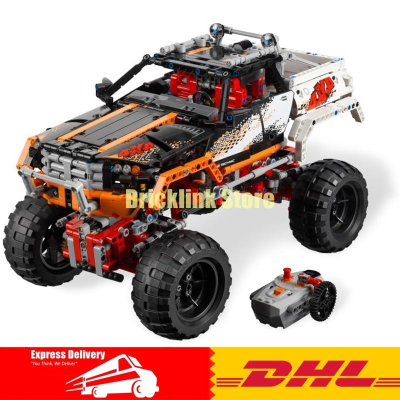 LEPIN Technic Series 20014 1386Pcs 4X4 Crawler Vehicles Model Building Kit Blocks Bricks Toys Gift for children With 9398 конструктор lepin technic монстр трак 4x4 crawler 1605 дет 20011