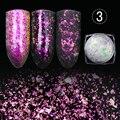 Camaleão MIOBLET 2017 Nova Transparente Nail Art Glitter Decoração Folha Poeira Dazzling Paillette Manicure Prego Lantejoulas Glitter