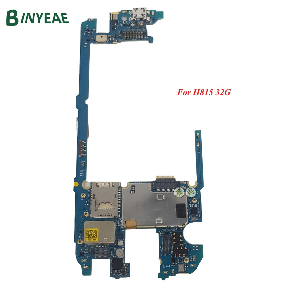 BINYEAE Original Main Motherboard Replacement For LG G4 H815 32GB Logic Board Unlocked