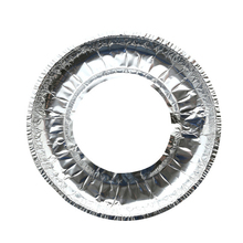 10Pcs Gas Stove Cleaning Pad Thick Aluminum Foil High-Temperature Greaseproof Paper Foil Protector Cover Kitchen Accessories