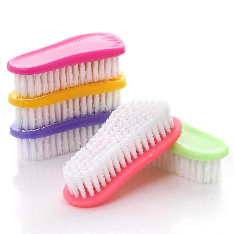 Plastic soft brush shoes cleaning Bath brush Laundry brush Pot brush Kitchen bathroom supplies
