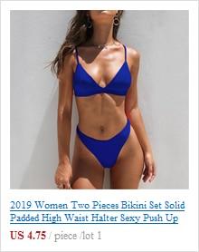 Women Swimsuit Push up Bikini 2019 Mujer Swimwear Swimming Suit Separate Female Swimsuit Bathing Suit Bikinis Biquinis Feminino