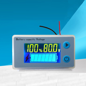 Image 2 - مؤشر قدرة بطارية الرصاص الحمضية 48 فولت 60 فولت 72 فولت شاشة عرض LCD حساس درجة الحرارة إنذار ليثيوم اختبار الرصاص الحمضية JS C33