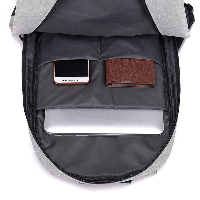 Teenager 15inch Laptop Backpack - Multifunction w/ USB charging 3