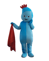 ggle Piggle garden baby Mascot Costume for Halloween Christmas Party Costume Character Outfit Fancy dress