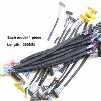 Most Used Universal LVDS Cable For LCD Panel Support 14 26 Inch Screen Package Sale Free