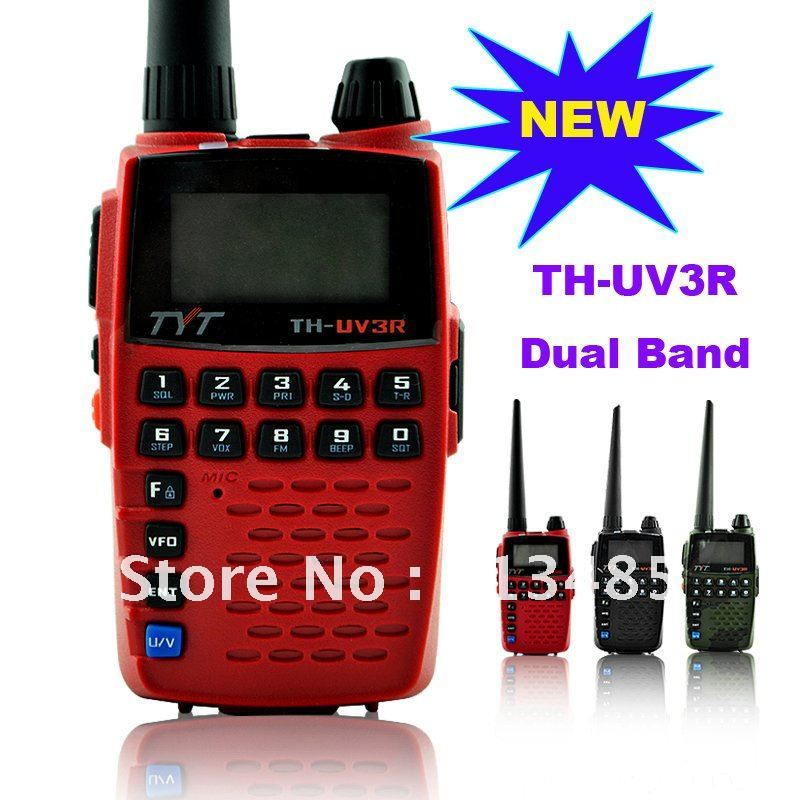 New Arrival TYT TH-UV3R VHF:136-174MHz & 400-470MHz  Dual Band Dual Display Dual Standby Handheld Two Way Radio