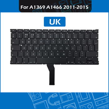 """10pcs/Lot A1466 Keyboard UK Layout for Macbook Air 13"""" A1369 A1466 Replacement keyboard 2011 - 2015 Year"""