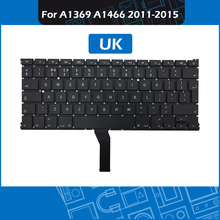 10pcs/Lot A1466 Keyboard UK Layout for Macbook Air 13″ A1369 A1466 Replacement keyboard 2011 – 2015 Year
