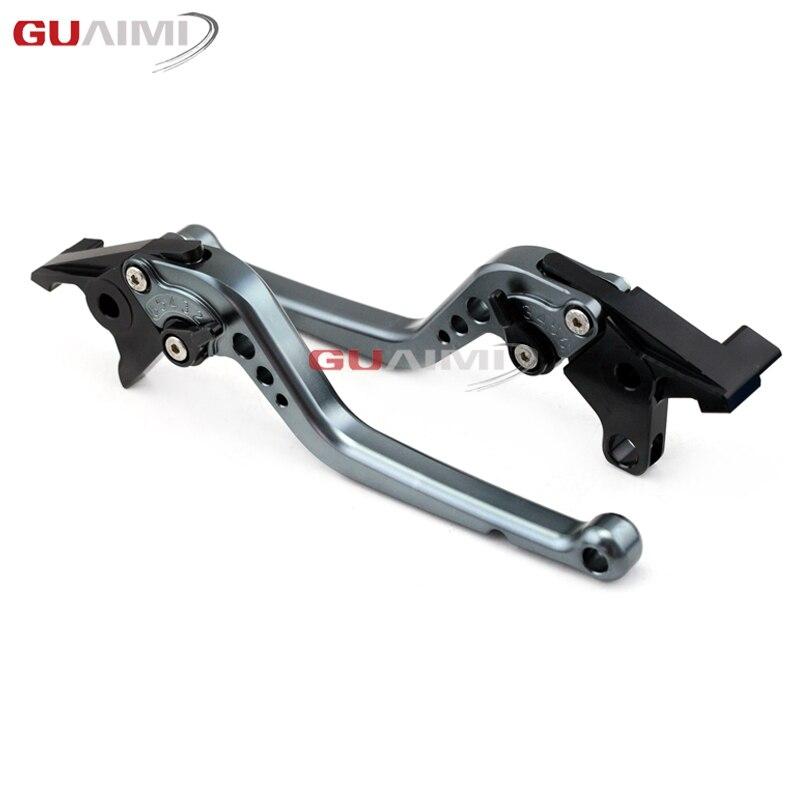 CNC Short Brake /& Clutch Levers For Kawasaki ZZR1100 ZZR1200 ZR-X1100//1200 ZX7R ZX900