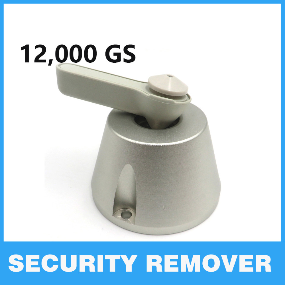 12000GS Universal Tag Removevr Supermarket EAS Opener Magnet Lock Remover Security Tag Detacher Security Alarm hard tag detacher