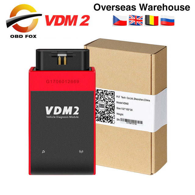 UCANDAS VDM 2 VDM2 V5.2 OBD2 Diagnostic Tool Same Function as Easydiag XTUNER E3 with WIFI Support Android free shipping
