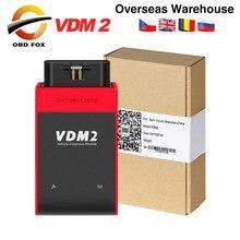 UCANDAS VDM 2 VDM2 V5.2 OBD2 teşhis aracı olarak aynı işlevi Easydiag XTUNER E3 WIFI desteği ile Android ücretsiz kargo