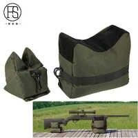 Outdoor Tactical Target Shooting Hunting Rifle Front Rear Bag Tactical Sandbag Support Package Gun Bench Bag
