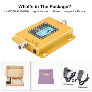Image 3 - 3g Repeater 2100 Cell Phone Signal Repeater 2100MHz Mobile Phone Signal Booster Amplifier,LCD Mini 70db 3G LTE WCDMA UMTS