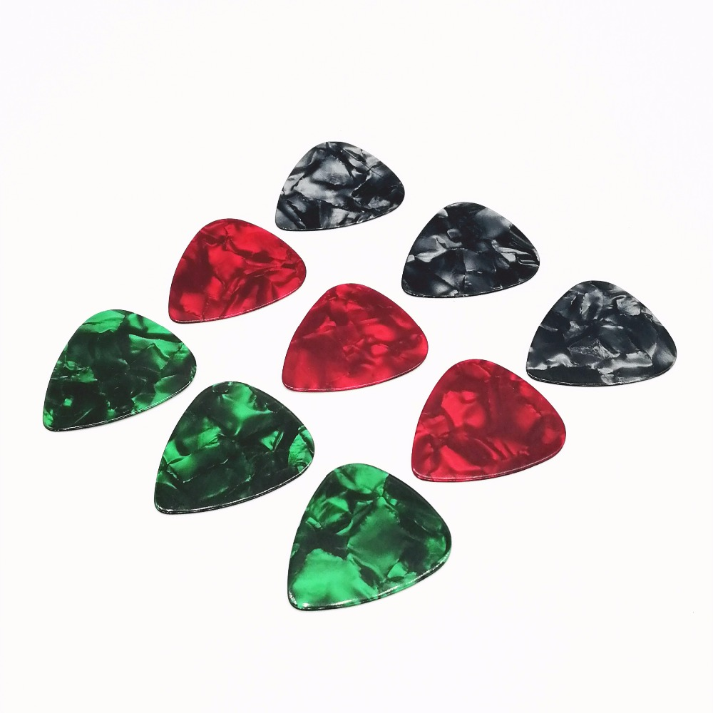 Hot Products Marbled Pearl Celluloid Electric Guitar Picks For Kids