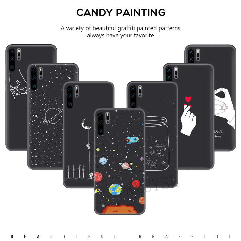 For Huawei P20 P30 Mate 20 Lite Y5 Y6 Prime 2018 P Smart Y7 PRO 2019 Case Cartoon Silicon Cover For Huawei Honor 8A 8X 7A 7C Pro