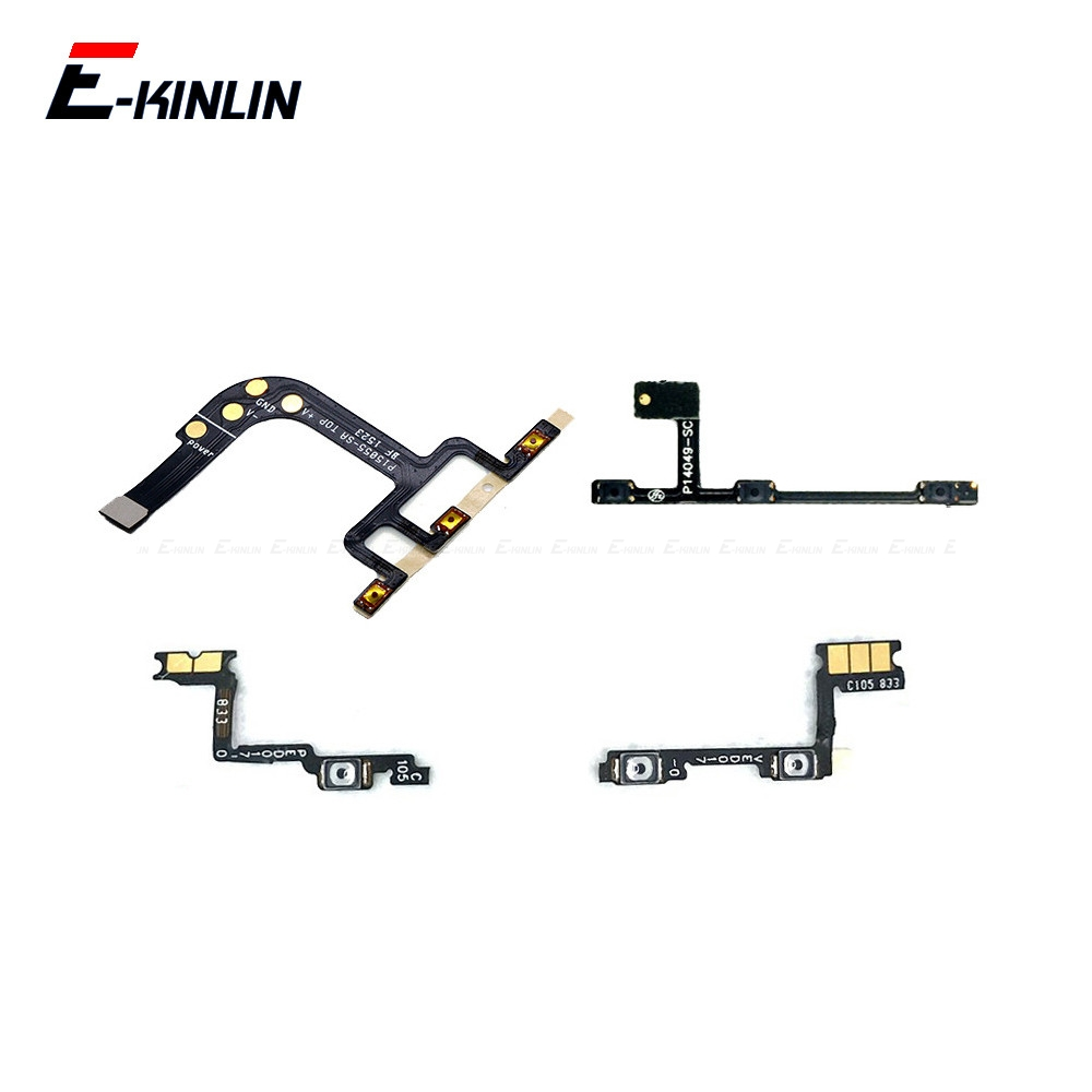 For OnePlus X 1 2 3 3T 5 5T 6 6T Side Power ON OFF Volume Camera Key Button Switch Flex Cable Ribbon Replacement Repair Parts