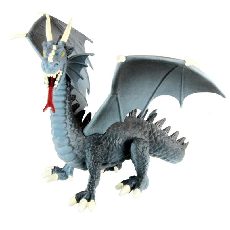 starz 1 100 western fire dragon action figures plastic toys pvc dinosaur model boys gift for. Black Bedroom Furniture Sets. Home Design Ideas