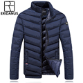 Men's Winter Jacket 2016 New Men Fashion Cotton Parkas Clothing Leisure And Business Warm Stand Collar Thicken Down Jackets M399