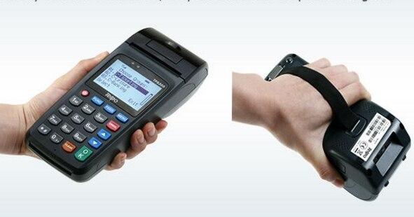 Lecteur de carte de crédit/lecteur de carte à puce/terminal de paiement de carte RF